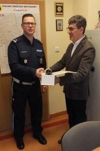 Automobilklub wspiera wojewódzkich policjantów. Dostali nowe alkomaty