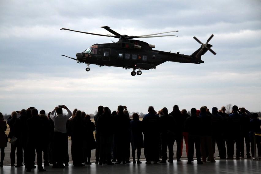 PZL-Świdnik liczy na kontrakt dla wojska. Pierwszy pokaz śmigłowca AW101 (WIDEO i ZDJĘCIA)