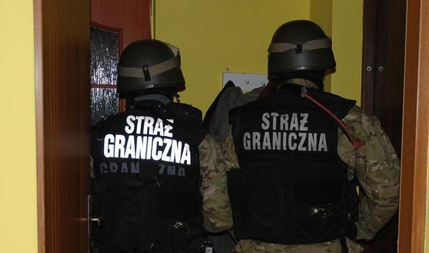 20 grudnia straż graniczna zatrzymała w Sejnach i Gibach...