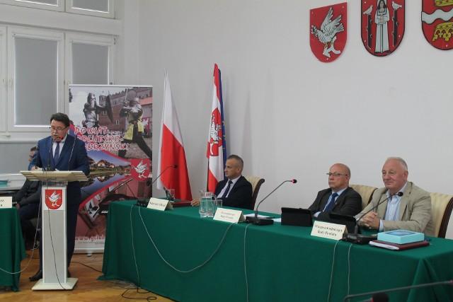 Starosta Franciszek Gutowski poinformował o zamiarze utworzenia placówki całodobowej dla osób niepełnosprawnych