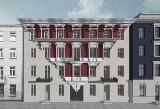 Nowe oblicza domów przy ul. Włókienniczej. Fronty kamienic powstają od nowa