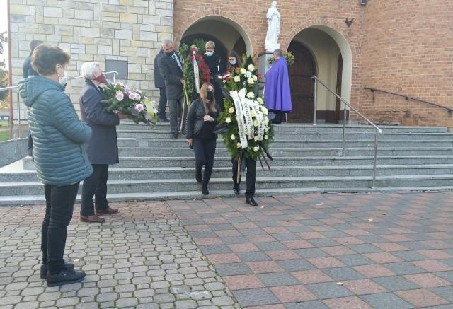 """W Makowcu odbył się pogrzeb Tadeusza Balcerowskiego, byłego posła, działacza ludowego, prezesa """"Rolmleczu""""."""