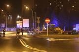 Wyciek gazu pod galerią Graffica w Rzeszowie [ZDJĘCIA]