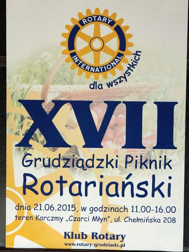 XVII Grudziądzki Piknik Rotariański w Czarcim Młyn