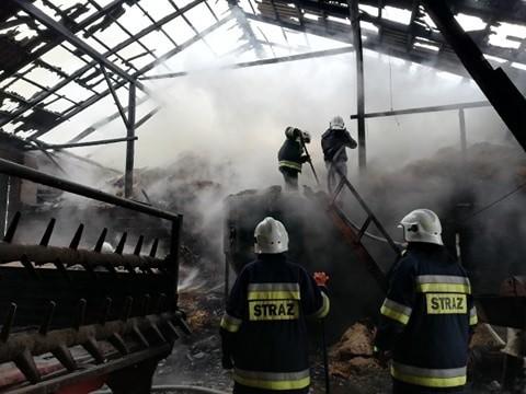 Pożar w Stoku Polski