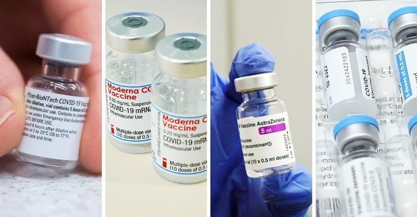 Skuteczność szczepionek Pfizera, Moderny, Astry Zeneci i Johnson&Johnson. Tak działają! Skład, skutki uboczne, kiedy druga dawka
