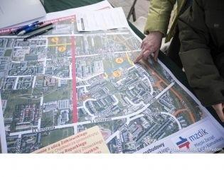 Miasto ma cztery propozycje zmian w rejonie Gołębiowa, na ich temat wypowiedzieli się mieszkańcy.