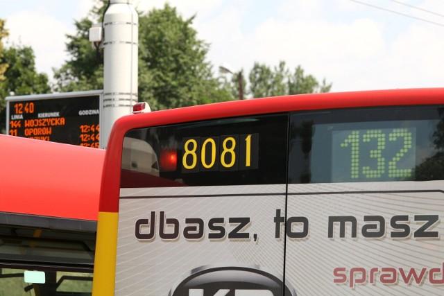 Inną trasą pojedzie także autobus linii 132. Zdjęcie ilustracyjne