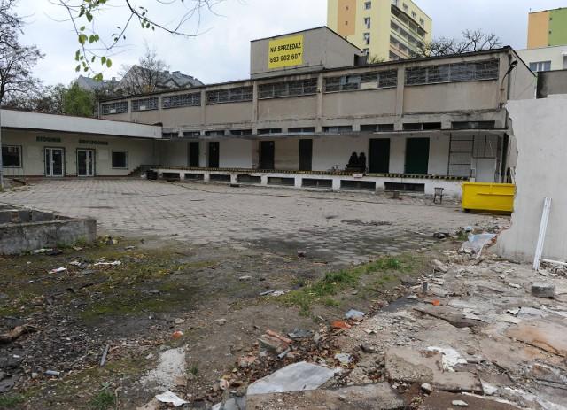 Część budynków została już rozebrana.