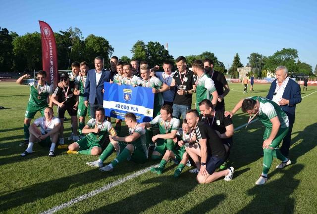 Powiśle Dzierzgoń to triumfator regionalnego Pucharu Polski, który w centralnych rozgrywkach zmierzy się z Garbarnią Kraków
