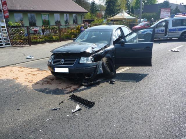 Wypadek Czerwonak - w wielkanocną sobotę zginął motocyklista