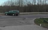 Pijany kierowca, który potrącił rowerzystkę w Czerwieńsku, chwilę wcześniej tankował auto