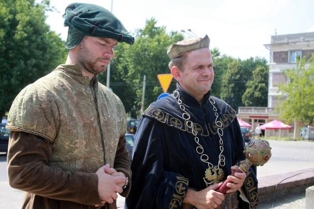 Był i król Władysław Jagiełło z kanclerzem, który 29 lipca 1423 r. w Przedborzu nadał prawa miejskie.
