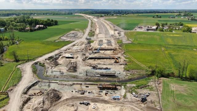 Prace drogowe trwają na wwszystkich sześciu odcinkach trasy S19 na terenie woj. lubelskiego