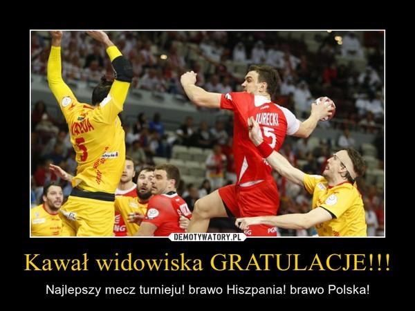 Polska - Hiszpania. MŚ Piłka Ręczna Katar 2015. Memy i filmiki Mistrzostwa Świata w Piłce Ręcznej