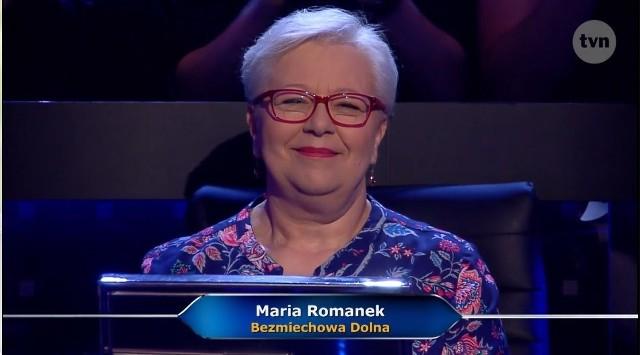 Maria Romanek wygrała milion w teleturnieju Milionerzy
