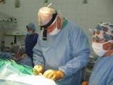 Pionerskie operacje na oddziale laryngologicznym 105. Szpitala wojskowego w Żarach