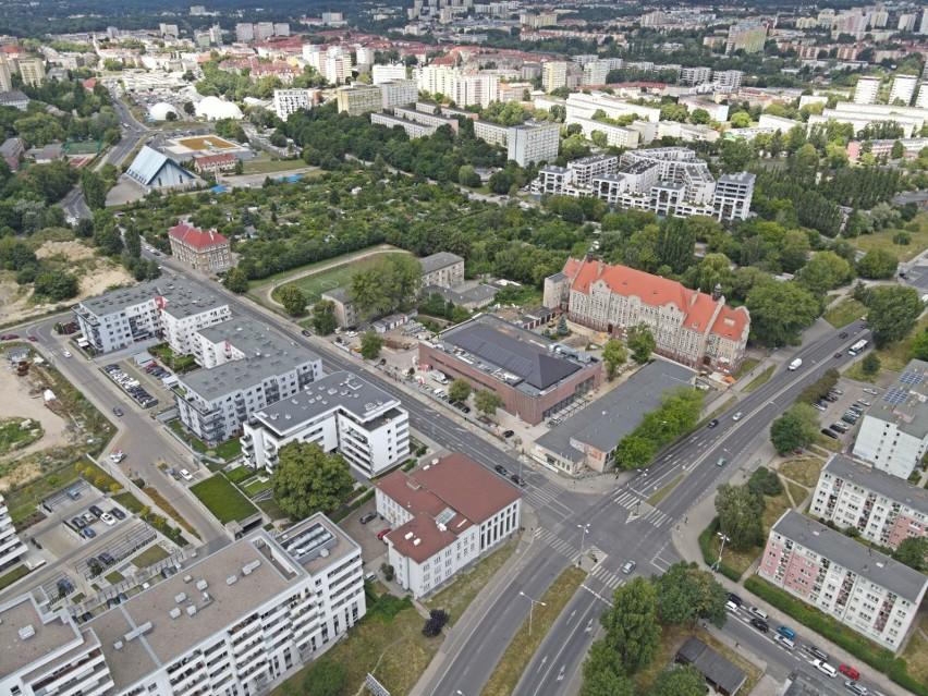Budowa sali TME w Szczecinie.