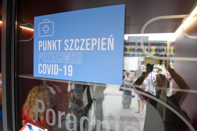 Punkt szczepień w Toruniu