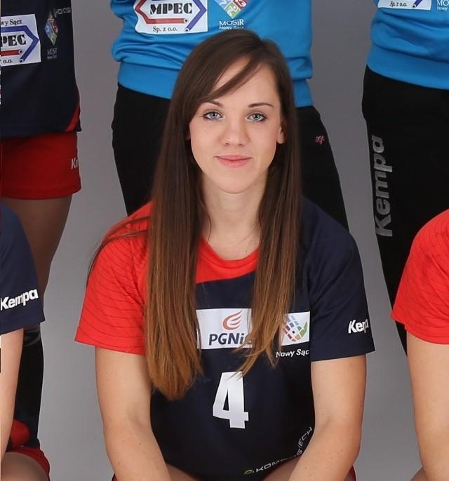 Agnieszka Leśniak to jedna z najlepszych zawodniczek Olimpii w tych  rozgrywkach. Czy wraz z koleżankami postawi się AZS?