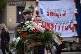 Pabianice. Święto Konstytucji 3 maja w Pabianicach. Skromnie i bez przemówień