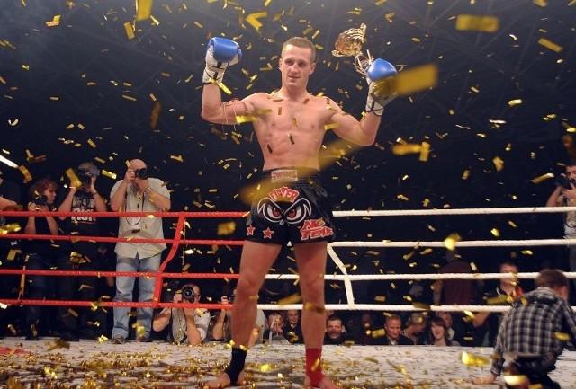 Marcin Parcheta mistrzem świata w Muay Thai.