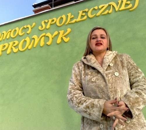"""Renata Żywina, dyrektor DPS """"Promyk"""""""