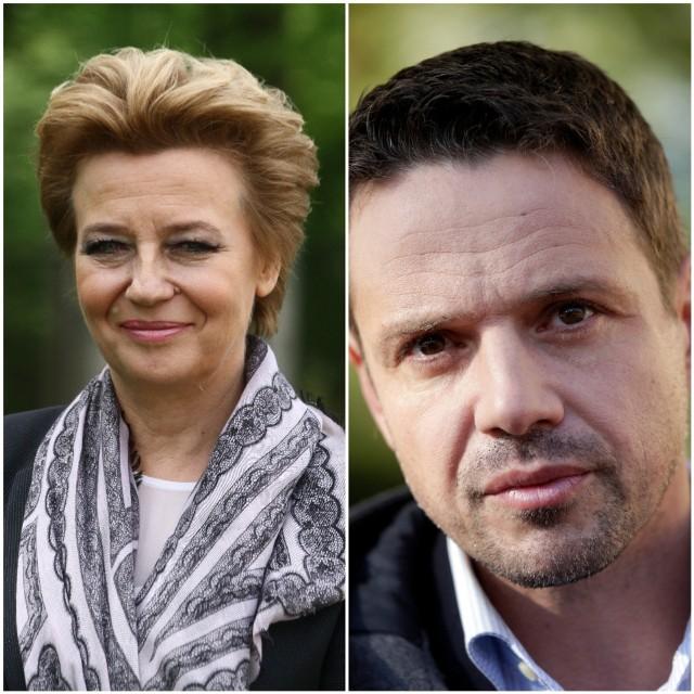Hanna Zdanowska i Rafał Trzaskowski