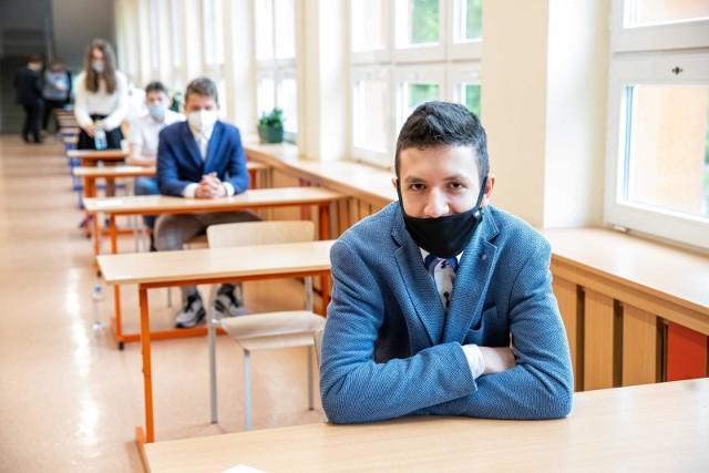 Egzamin ósmoklasisty w SP 15 w Białymstoku