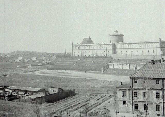 Lublin po II wojnie światowej, lata 1945-47. Podzamcze.