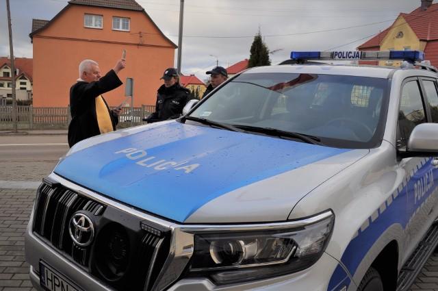 Policjanci podsumowali rok pracy. Dostali też nowy radiowóz.