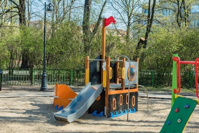 Place zabaw w Łodzi przez jakiś czas zostaną puste
