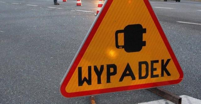 Wypadek na DK 78 w Porębie. Droga jest zablokowana