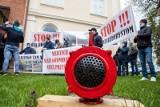 Protest rolników przeciwko decyzji RDOŚ. Łąki na obszarze Natura 2000 Bagno Wizna zagrożone zalaniem