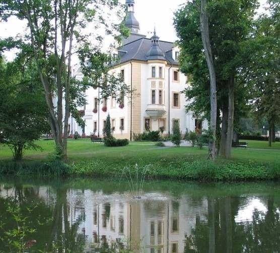 Kompleks pałacowo-parkowy w Kamieniu Śląskim
