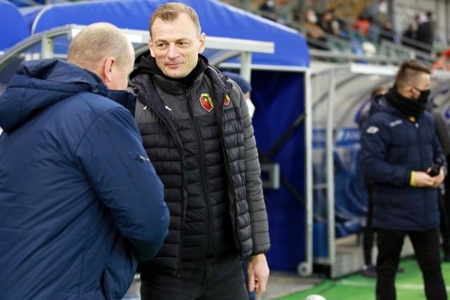Trenerzy Podbeskidzia i Jagiellonii mówili, że szanują zdobyty punkt