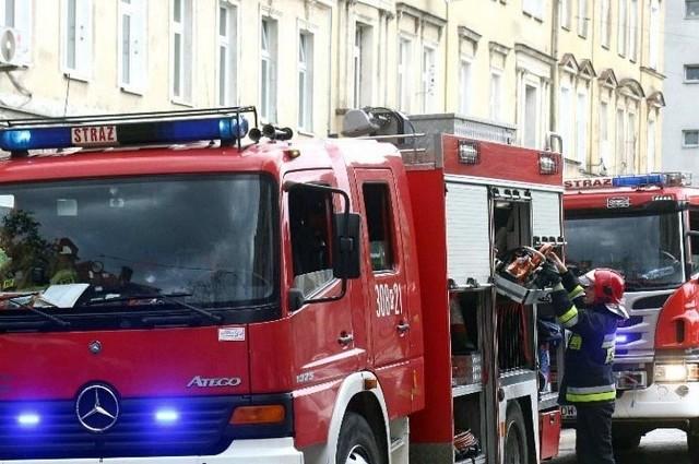 Tragiczny pożar w Gliwicach wybuchł przy ul. Zygmunta Starego.