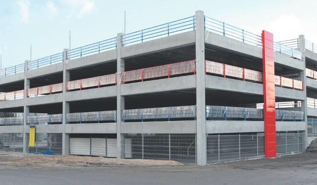 Parking wielopoziomowy wybudowany w Kielcach ma służyć celom badawczym