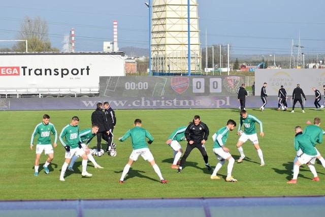 Mecz Rakowa ze Śląskiem Wrocław wzbudził emocje nie tylko sportowe, ale również wizualne.