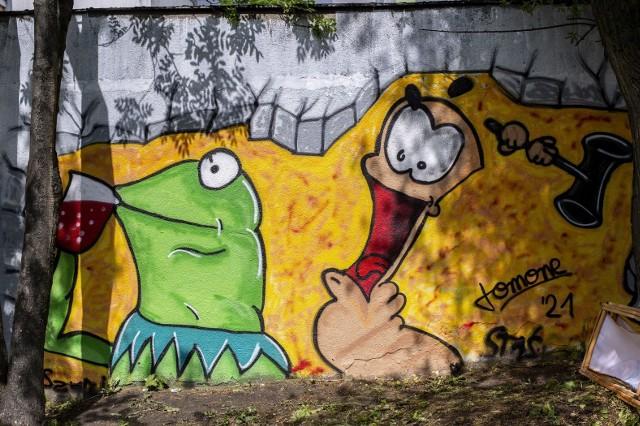 W Zespole Szkół Budowlano - Drzewnych w Poznaniu odbył się w sobotę Festiwal Graffiti.Przejdź do kolejnego zdjęcia --->