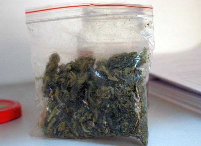 Jacek W. miał przy sobie działki marihuany i amfetaminy