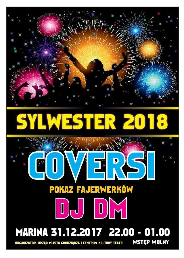 Sylwester 2017/2018 odbędzie się w marinie w Grudziądzu.