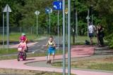 Najmłodsi szlifują umiejętności w miasteczku ruchu drogowego w Myślęcinku [zdjęcia]