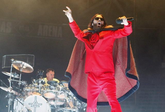 Zespół Thirty Seconds To Mars wystąpił w Atlas Arenie w Łodzi