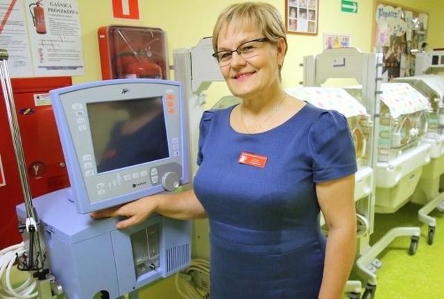 Grażyna Pazera, kierownik Kliniki Neonatologii Wojewódzkiego Szpitala Zespolonego w Kielcach