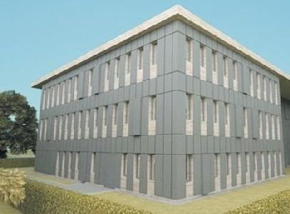Tak będzie wyglądać siedziba nowego archiwum (wizualizacja - IDS Maciej Panek)