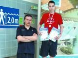 Norbert Wawulski wicemistrzem Polski w pływaniu