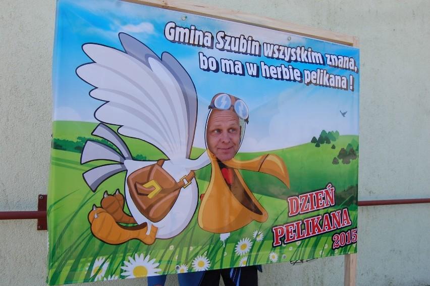 Pelikanem chętnie został m.in. Wojciech Bethke, wiceprzewodniczący Rady Powiatu Nakielskiego