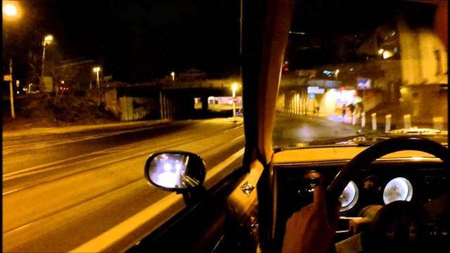 Nocny wyścig w Białymstoku. Mercedes vs. Alfa Romeo. Kierowcy stracili prawo jazdy