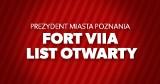 List otwarty w sprawie przyszłości Fortu VIIA